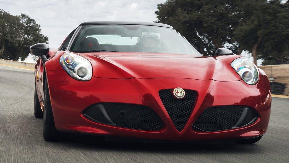 The Spider is Alfa Romeo's premier sports car. -