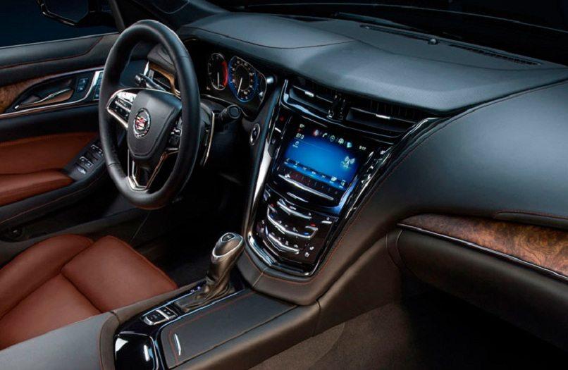 The gorgeous interior of the Cadillac CT6 Platinum. -