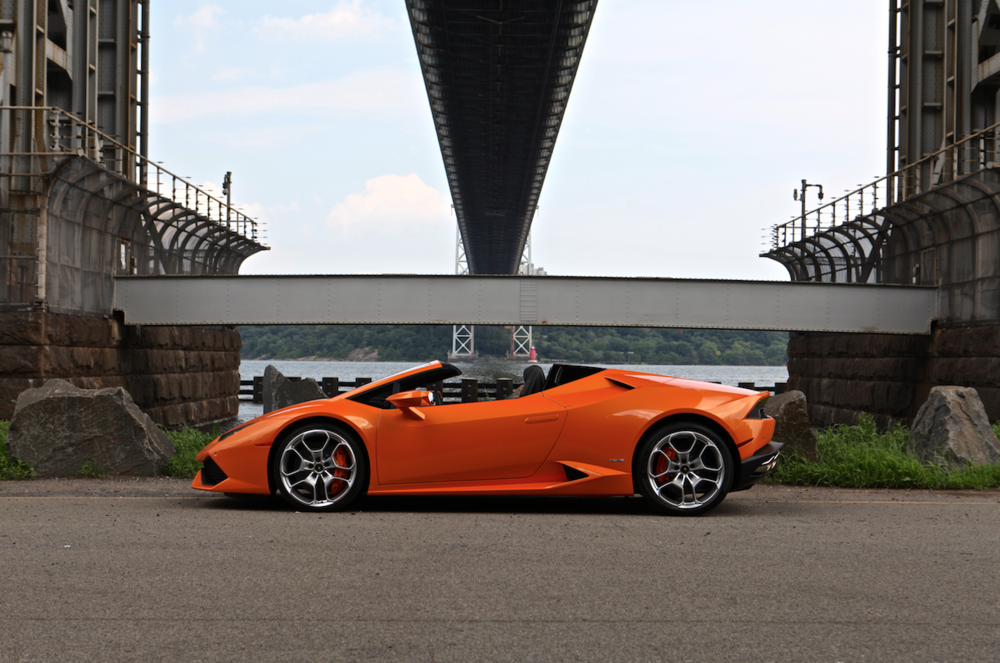 The Huracan is a beast of a car for Halloween. -