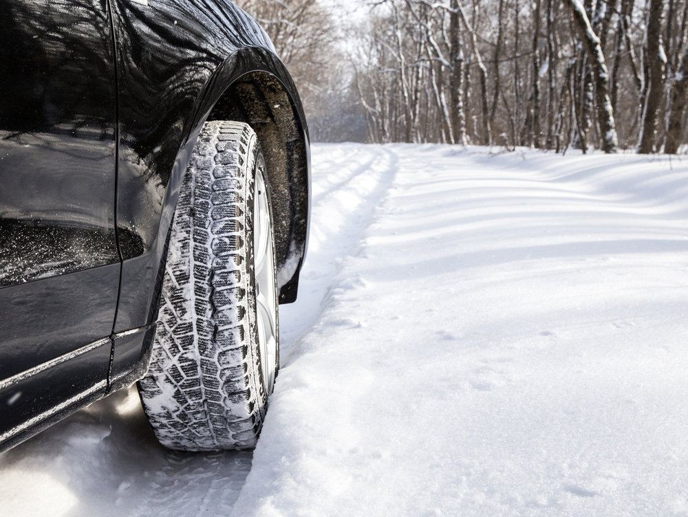 Your tires are the key to your safety when driving in Winter conditions.