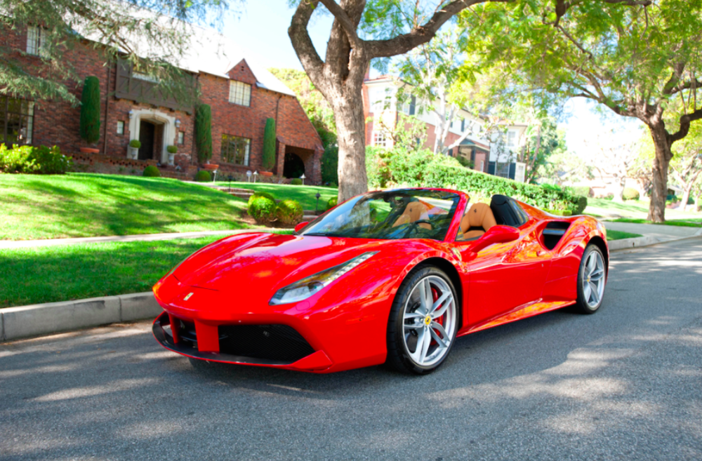 Or perhaps a Ferrari is more your style. -