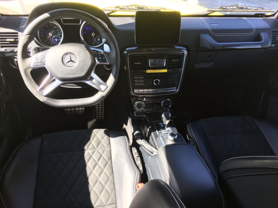 The interior of the G550 is nothing short of luxurious -