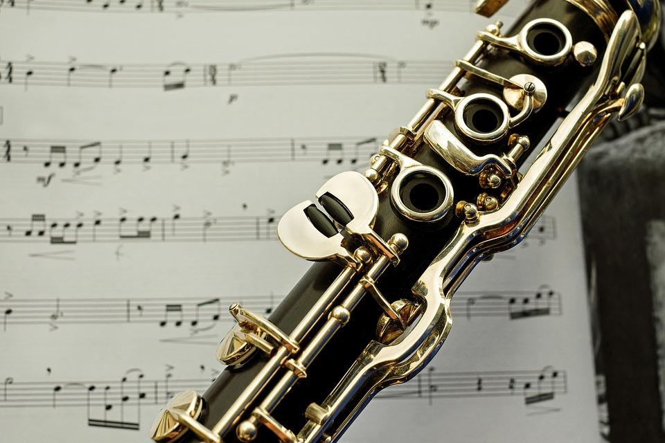 clarinet sheet music image