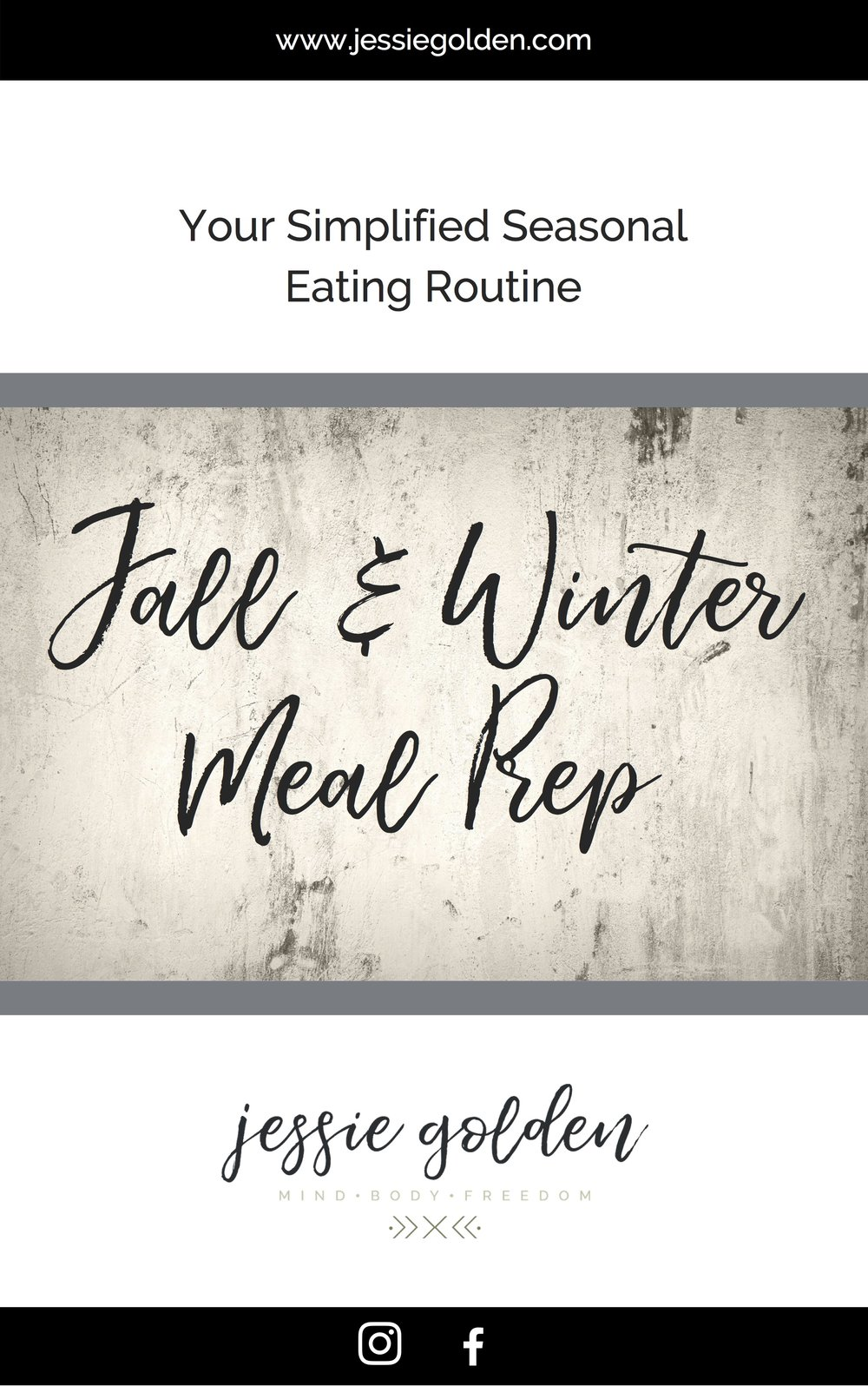 Get your FREE guide to seasonal meal prep when you sign up for my newsletter  here !