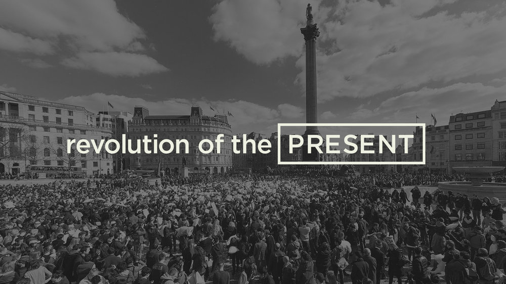 Revolution Of The Present - Humanity seems to be stuck in the perpetual now that is our networked world. More countries are witnessing people taking to the streets in search of answers. Revolution of the Present, the film, features interviews with thought leaders designed to give meaning to our present and precarious condition.