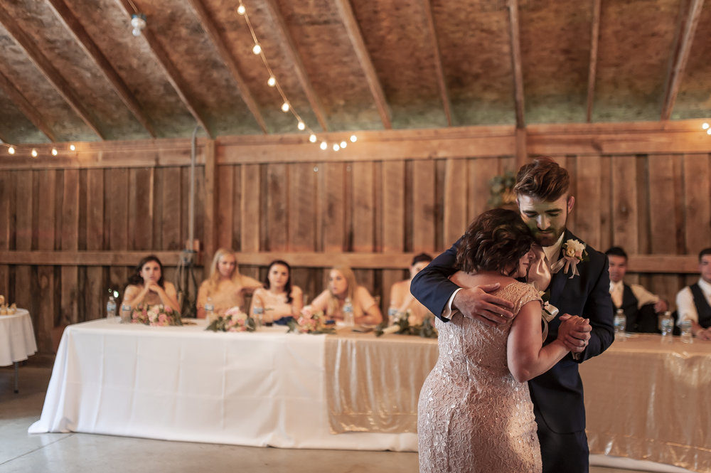 "& Groom danced to ""I'll be in your heart"" with mom, which is one of my favorites. Good choice!"