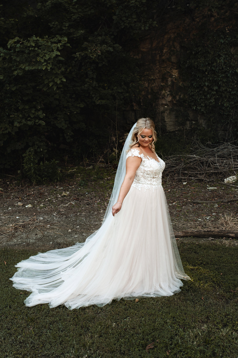 Bride, Sidney looking AMAZING, this dress was meant for her