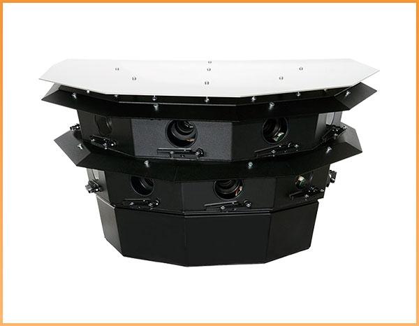 Logipix ONE 200-megapixel, 20FPS, 180-degree panorama camera -