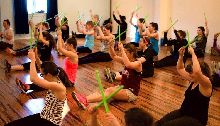 Pound- fitness class — Lotus & Hawk Holistic Center