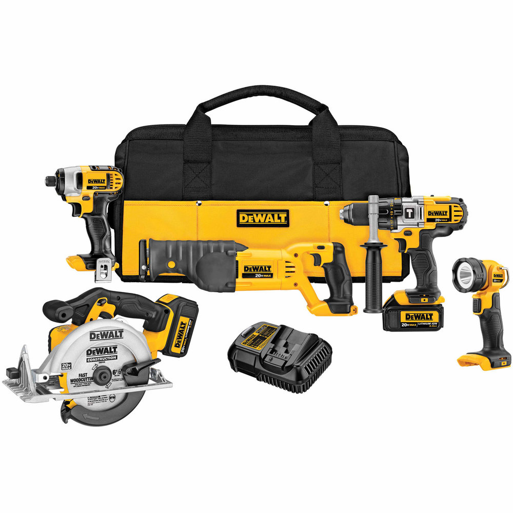 Our  DeWalt set