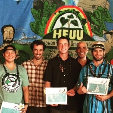 CULTURAL REGENERATION: Hawaii Farmers Union United's Farm Apprentice Mentoring (FAM) Program Graduates - an example of regenerating the culture of food on Maui.