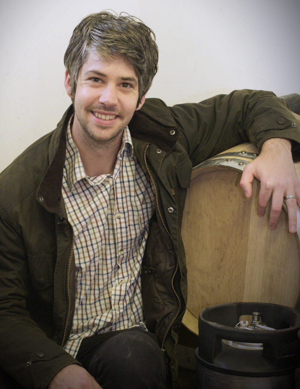 Sam Britten - Co-owner and founder of Orkney Craft Vinegar