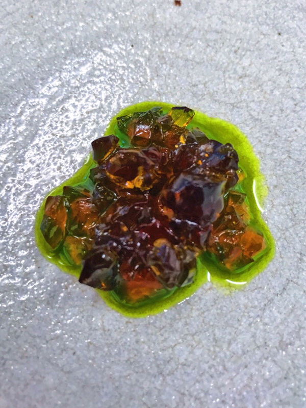 bere jelly with onion oil