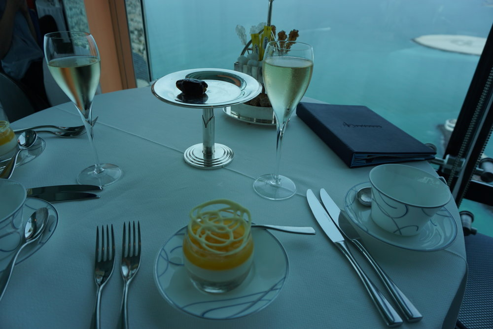 Burj Al Arab Afternoon Tea in Dubai