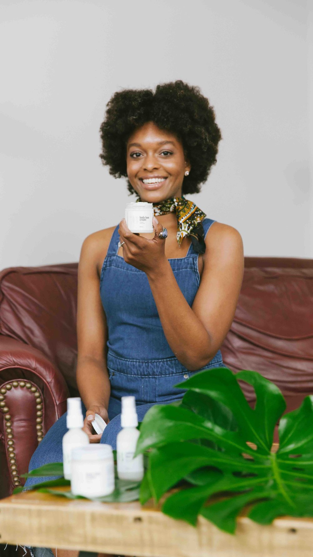 Striver, Founder & CEO of BASE BUTTER, She'Neil Johnson