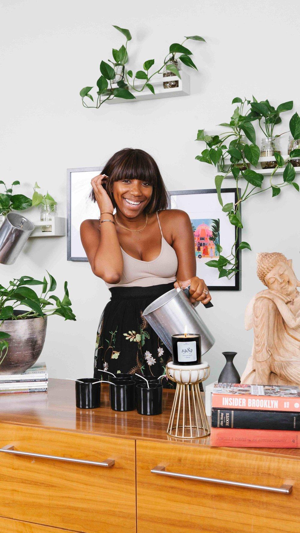 Striver & Founder of  LIT Brooklyn ,  Denequa Williams