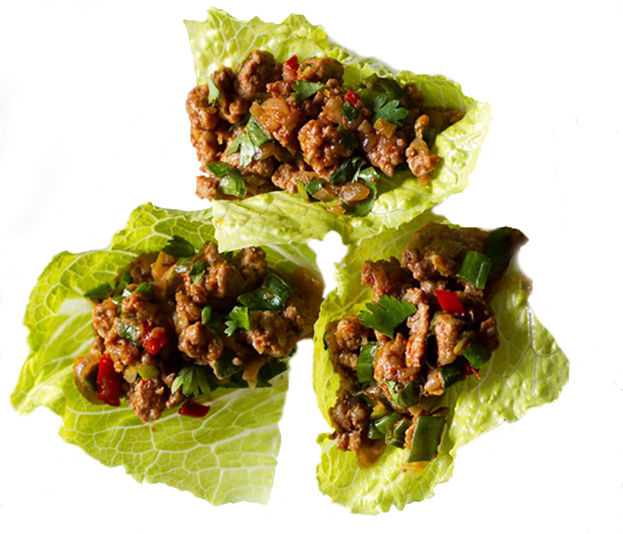 Beef Larb: Click on the picture for recipe.