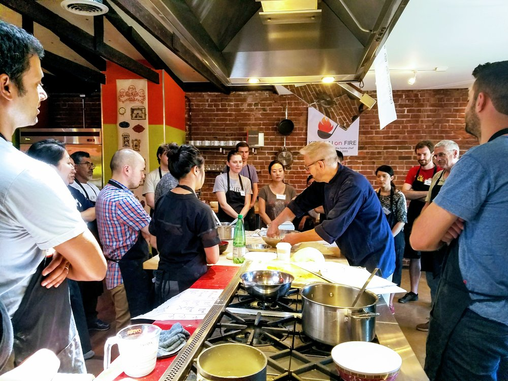 HANDS ON COOKING CLASSES