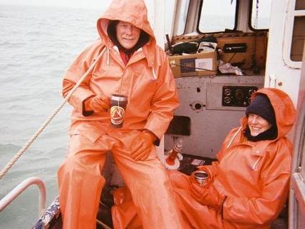 Dan & Pam Stickland in Bristol Bay