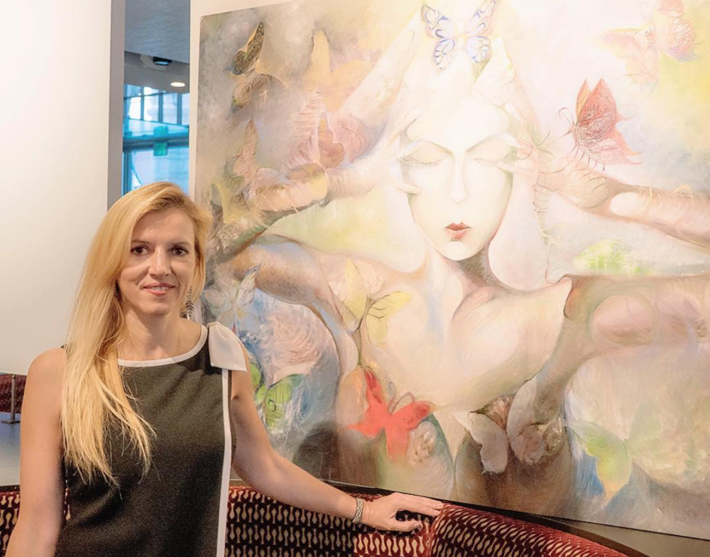 Liquid Art House Founder Ruta Laukien