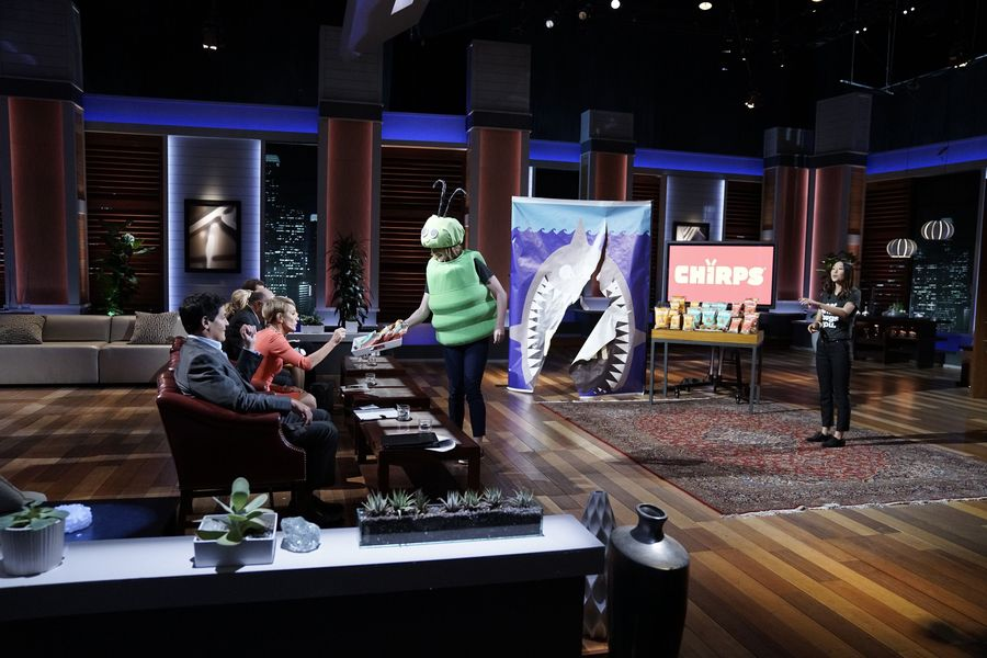 Rose and Laura on Shark Tank