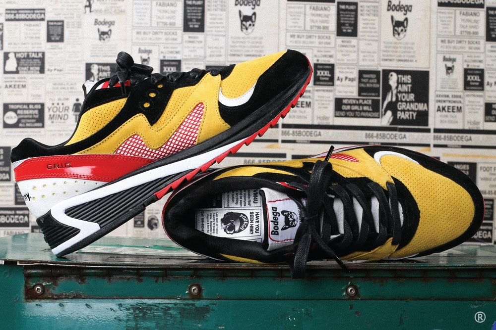 "Bodega x Saucony Grid 8000 ""Classifieds"""