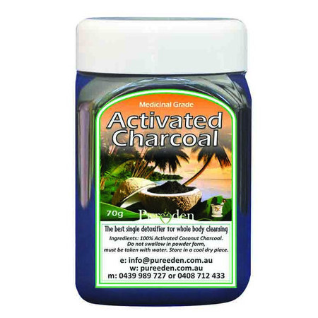 Pure Eden Activated Charcoal - Pure Eden's Activated Charcoal is powerfully detoxifying and has been created to aid a wide range ailments. This product which has been used for many years by alternative health practitioners is ideal for those seeking an easy and effective cleanse, as well as those looking to boost their overall wellness.