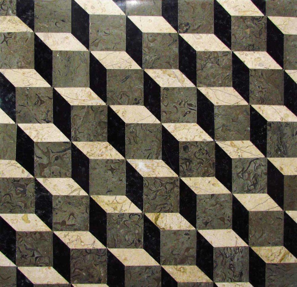 Trompe Loeil Stone Pattern