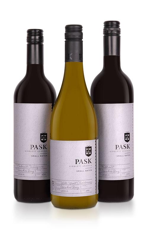 Small Batch range with wine glass