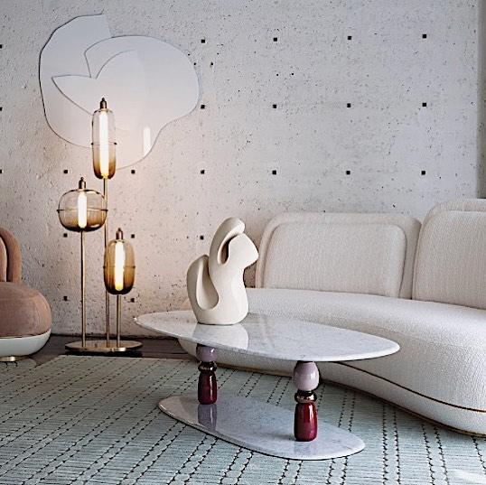 dreamy ☁️ ... @se_collections exhibition at @rossana_orlandi for #salonedelmobile2019 #milan #ninamayaloves . . .  #salonedelmobile #salonedelmobile2019 #milan #milandesignweek #secollections #rossanaorlandi #lounge #interiordesign #furnituredesign #lightingdesign #milanfurniturefair