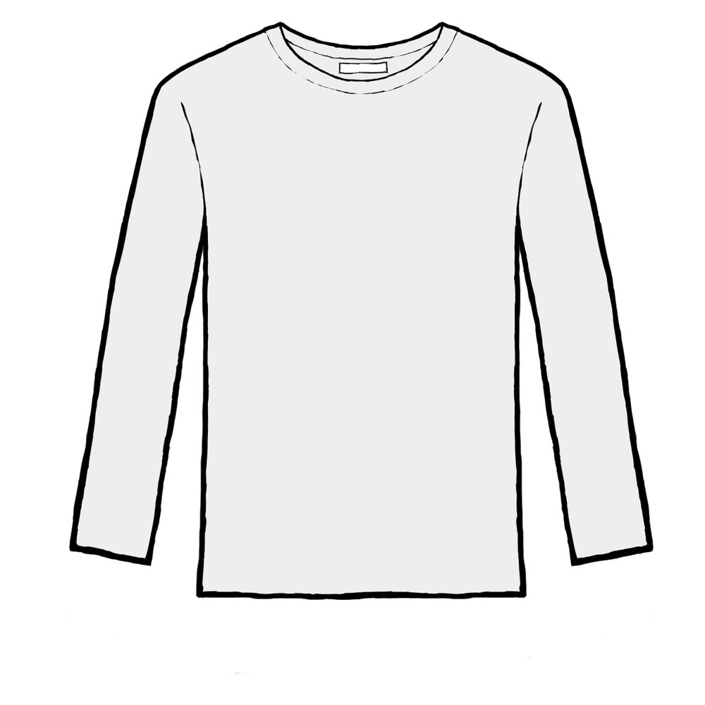 UNISEX LONG SLEEVES TEES FROM $5.99
