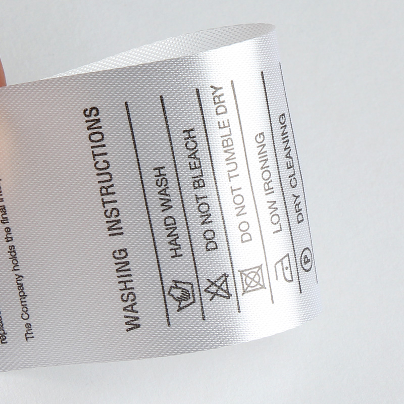 CARE LABELS -