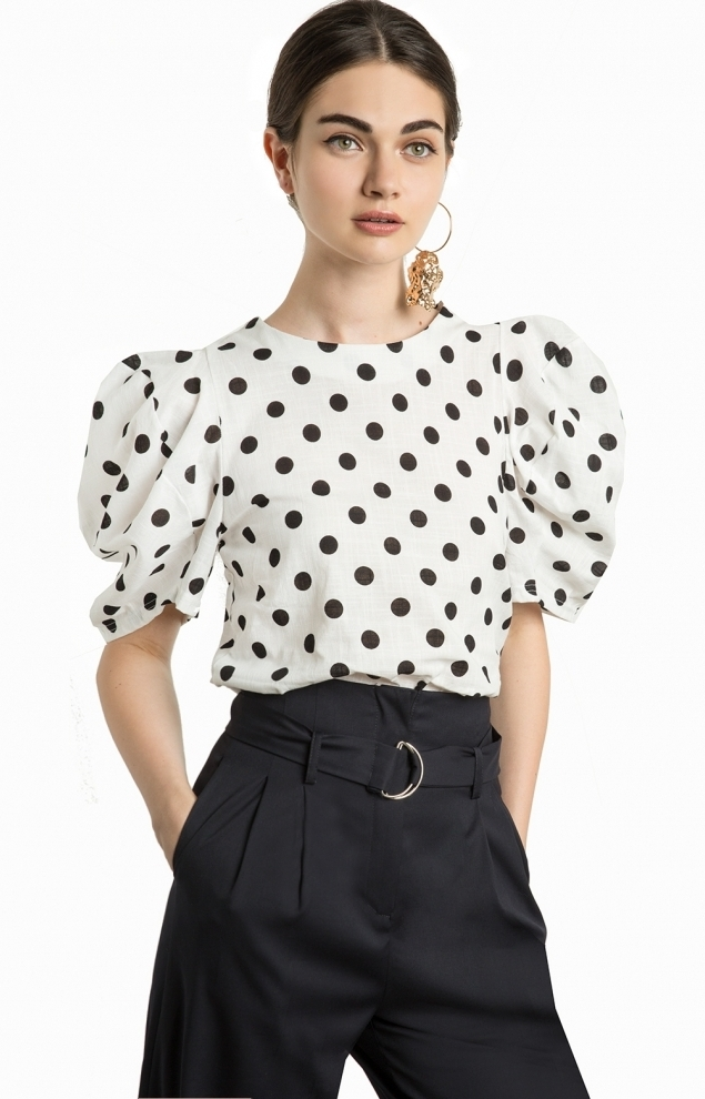http-::www.pixiemarket.com:roma-polka-dot-balloon-sleeve-top.html.jpg