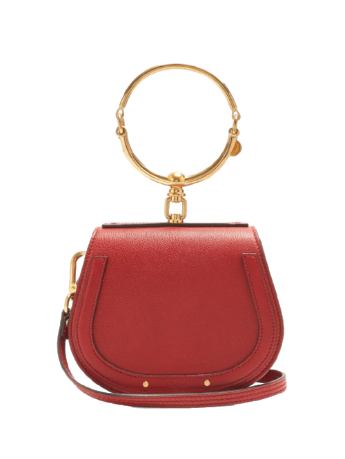 Chloe Nile Small Leather And Suede Cross-body Bag