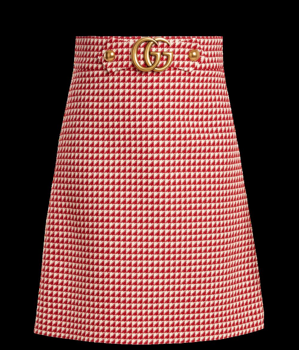 Gucci GG Wool-blend Skirt