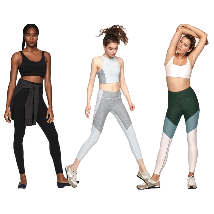 Outdoor Voices - The average women's pants inseam is 32 inches, but OV offers full-length leggings with a standard 28-inch inseam and 7/8 pants with a 26-inch inseam, which means you don't have to sacrifice any of the design details at the bottom to the hemming gods.