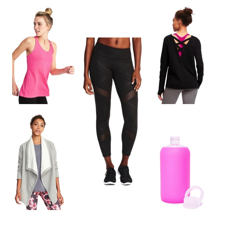 Old Navy - The brand has a dedicated category page for petite activewear which includes affordable compression run tights and yoga leggings that won't bunch at the ankle. Its petite-specific products extend into tops as well, which is great for all of us with a particularly small torso.