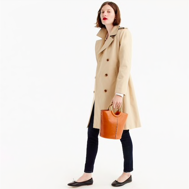 J.Crew - Women's 2011 New Icon Trench in Petite
