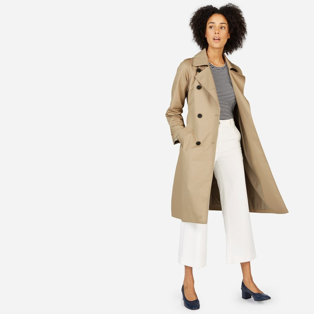 Everlane - The Drape Trench Coat