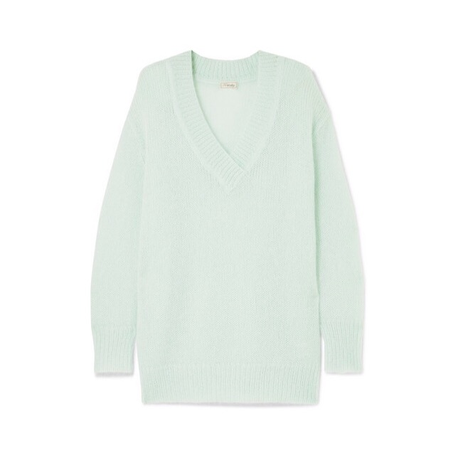 Temperley London - Iron Mohair-Blend Sweater