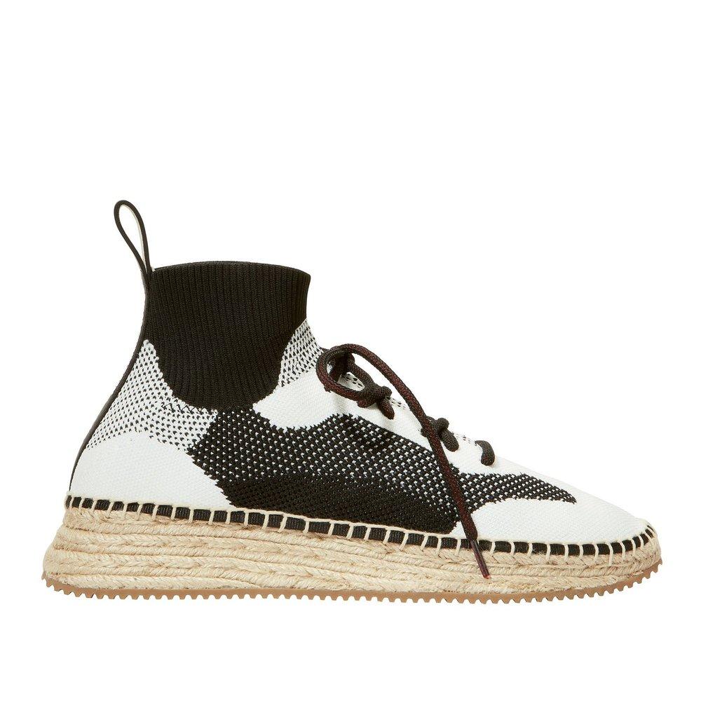 Alexander Wang - Dakota Espadrille Sock Sneakers