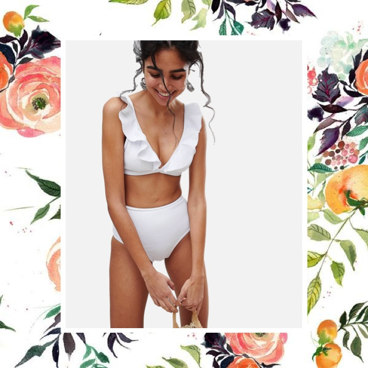 Playful Promises - Ruffle Frill Triangle BikiniMake waves in this so-sexy ruffle swim top that will be your beach-going bestie.
