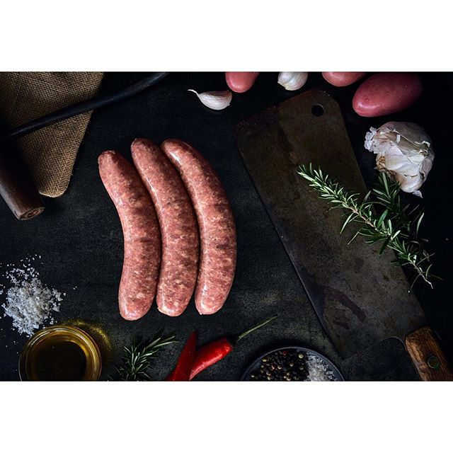 Scrumptious #SAUSAGES .Grab some of these for the bbq this Christmas from @felicesplace  The benefits of food photography, getting to taste the products after. #happydays