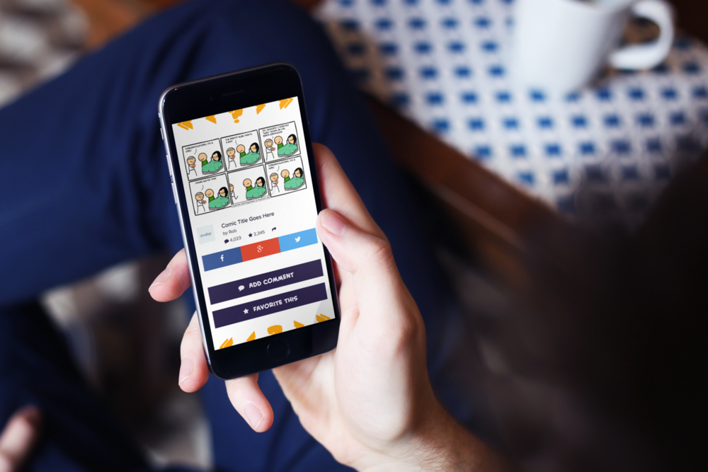 Explosm - A Website Overhaul to Build A Community