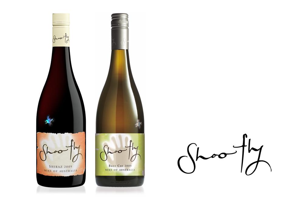 Shoofly Wine Labels – Shiraz & Buzz Cut