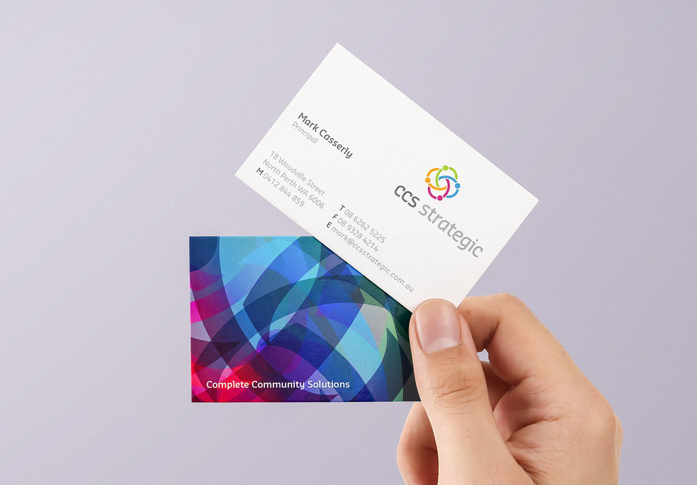 CSS Strategic Business Cards