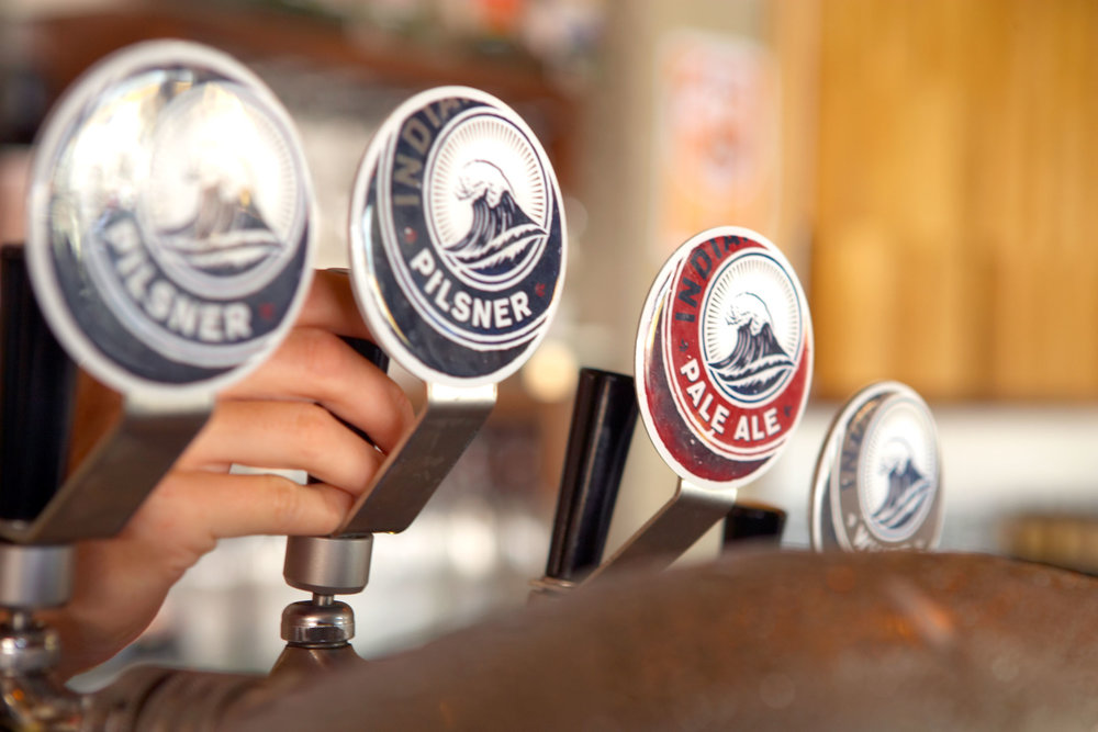 Indian Ocean Brewing Company – Beer Tap Graphics