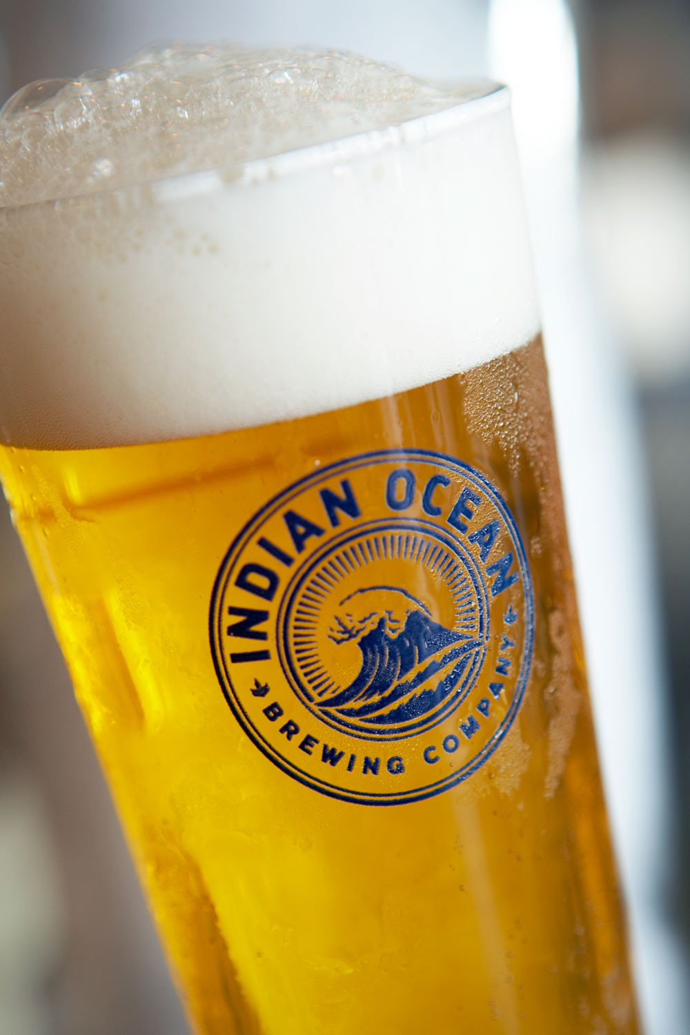 Indian Ocean Brewing Company – Glass Decal