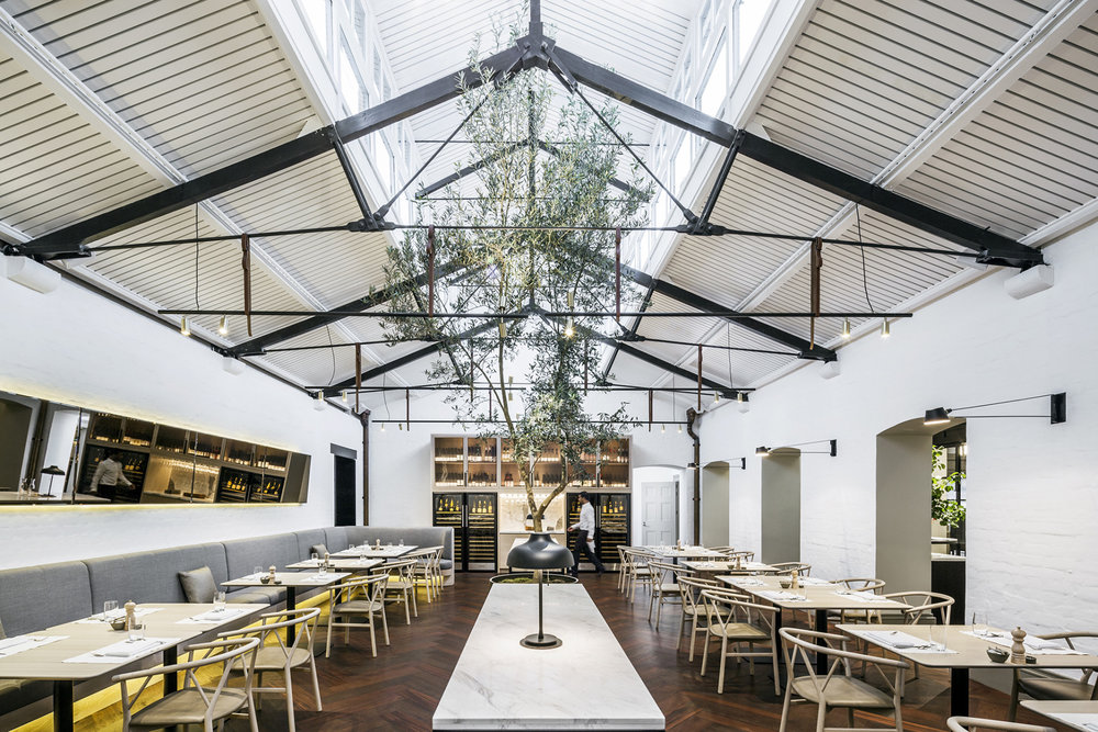 Post Restaurant – Interior