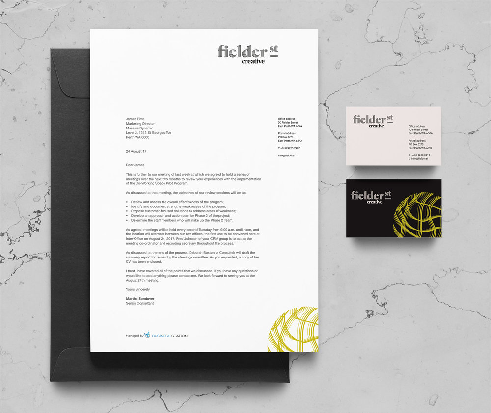 Fielder Street Creative – Stationery